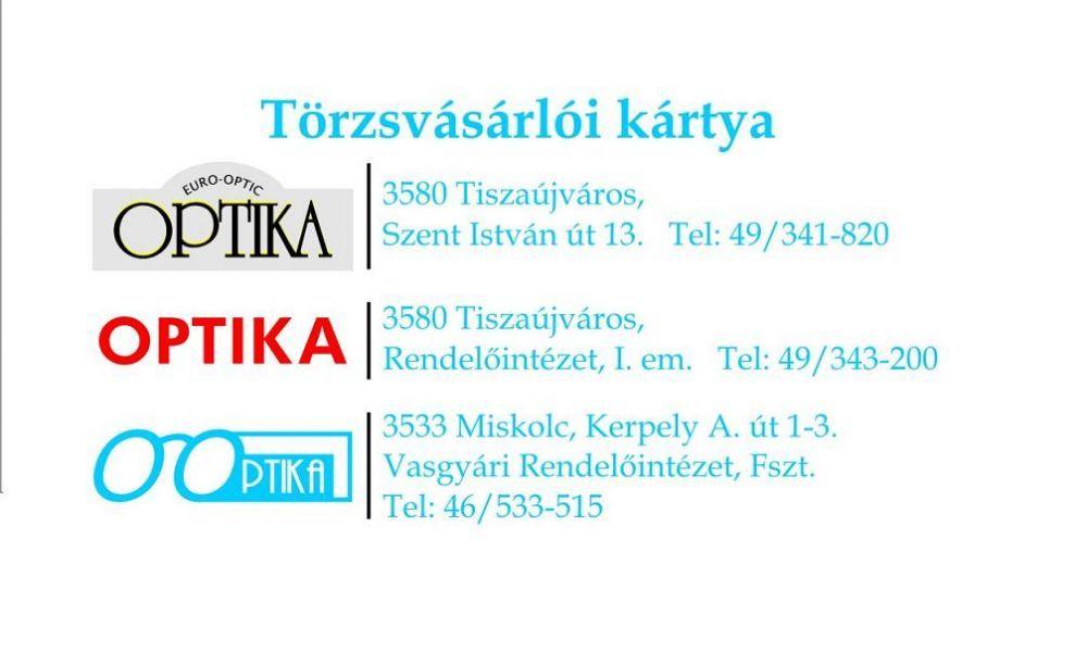 74fc95375f Karászi Optika - AKTUÁLIS
